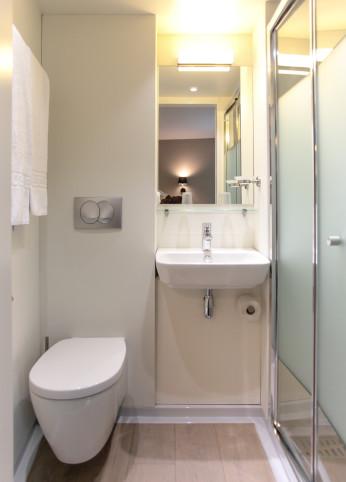 Salle d'eau - hôtel Reseda Paris