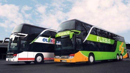 Eurolines Flix bus hotel reseda